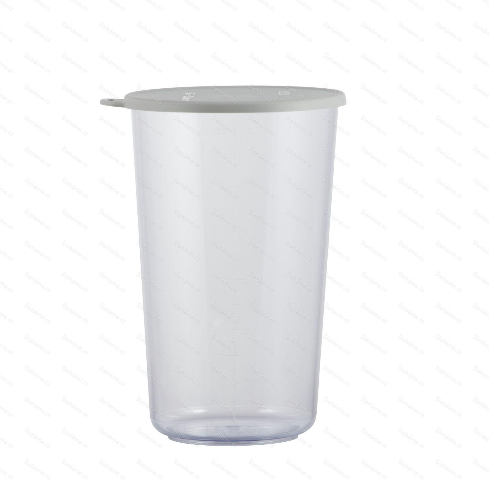 Pohár Bamix 600 ml, s šedým víčkem