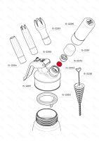 Těsnění plnícího ventilu iSi