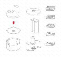 Zobrazit detail - Spojka k poklici SliceSy, 4 mm