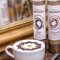 Dekorační toping L'Artiste de Monin Cocoa Sauce, 150 ml
