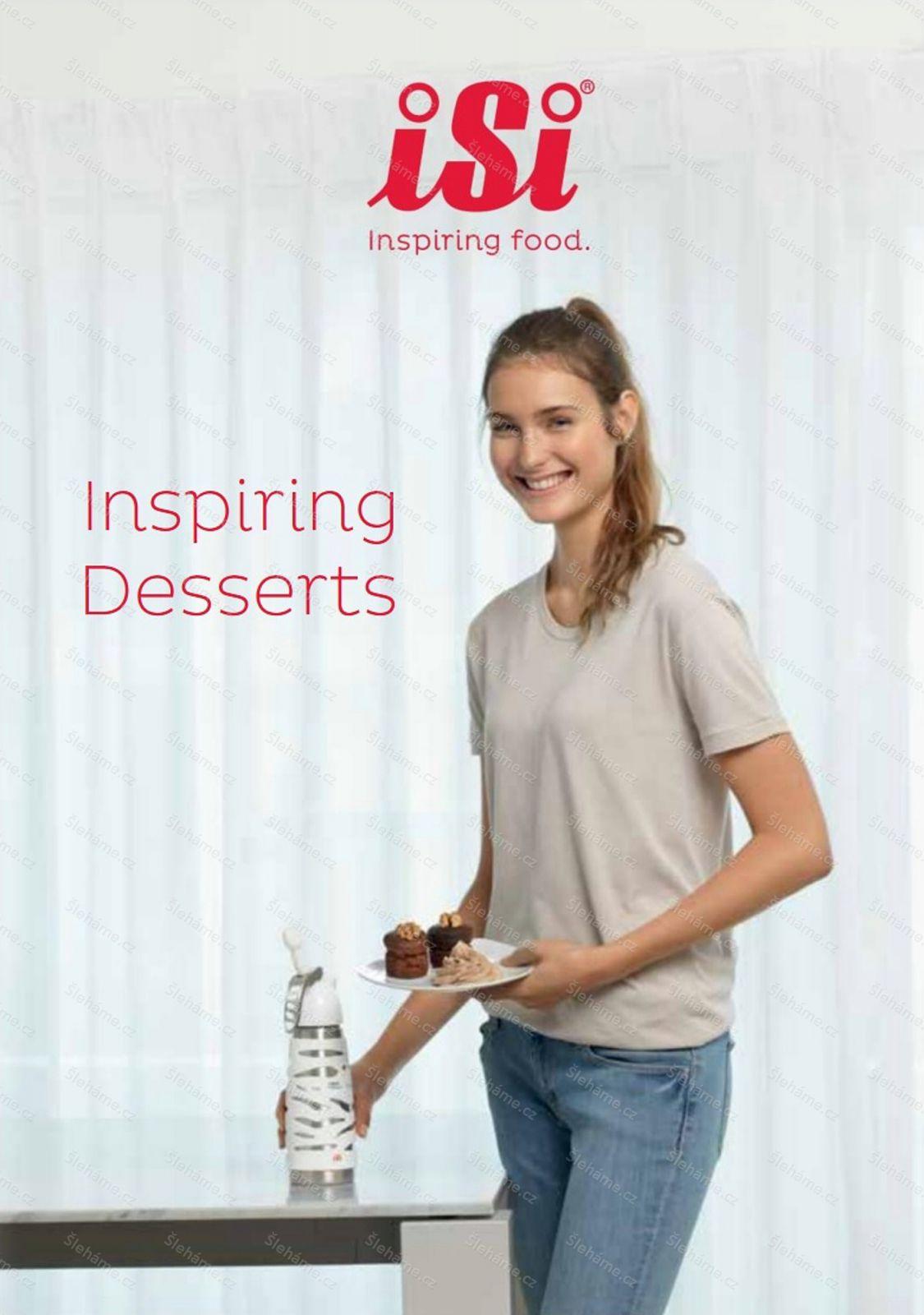 Kuchařka pro šlehače iSi INSPIRING DESSERTS
