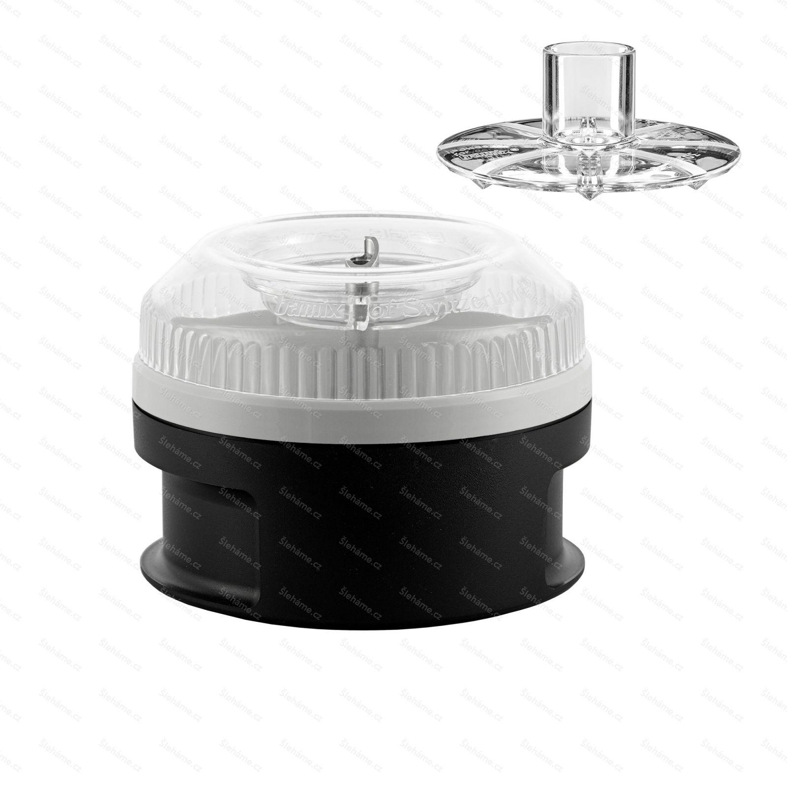 Procesor 200 ml Bamix se stlačovadlem, černý
