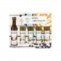 Sada sirupů Monin Coffee Set, 5x 50 ml