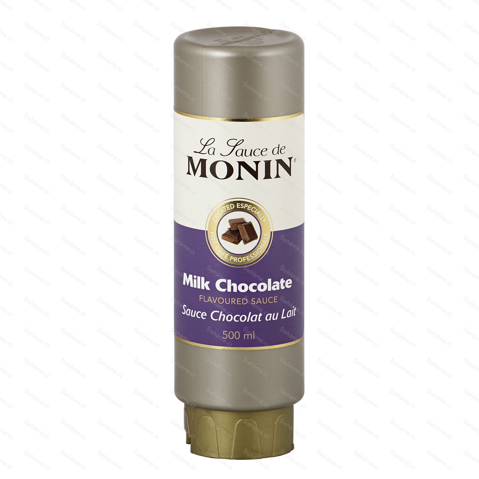 Toping Monin Milk Chocolate, 500 ml