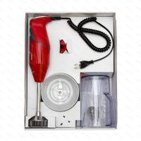 Tyčový mixér Bamix SWISS LINE M200 - SuperSet, červený