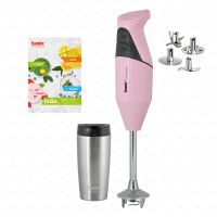 Tyčový mixér bamix® TOGO M200, růžový