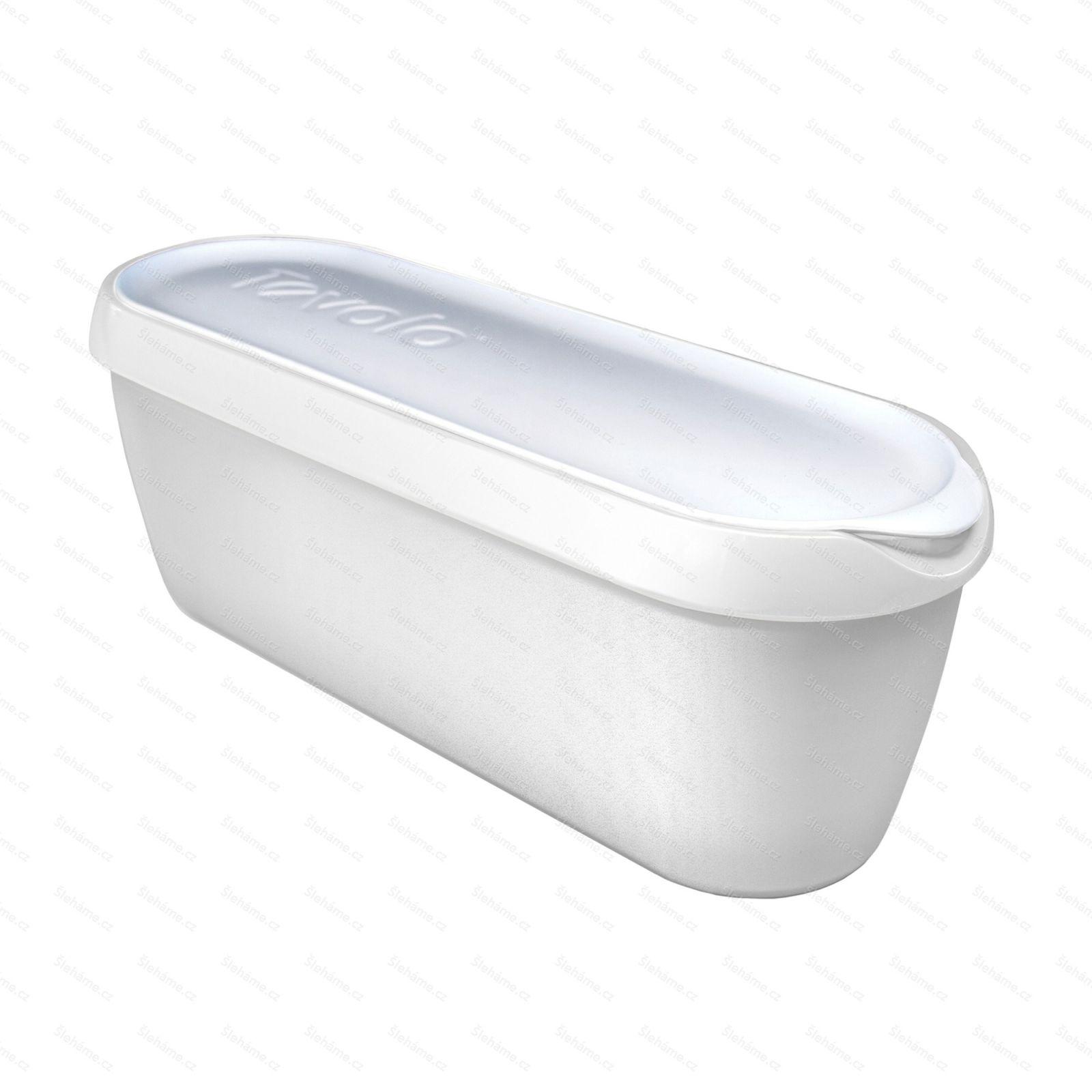 Vanička na zmrzlinu Tovolo GLIDE-A-SCOOP 1.4 l, bílá
