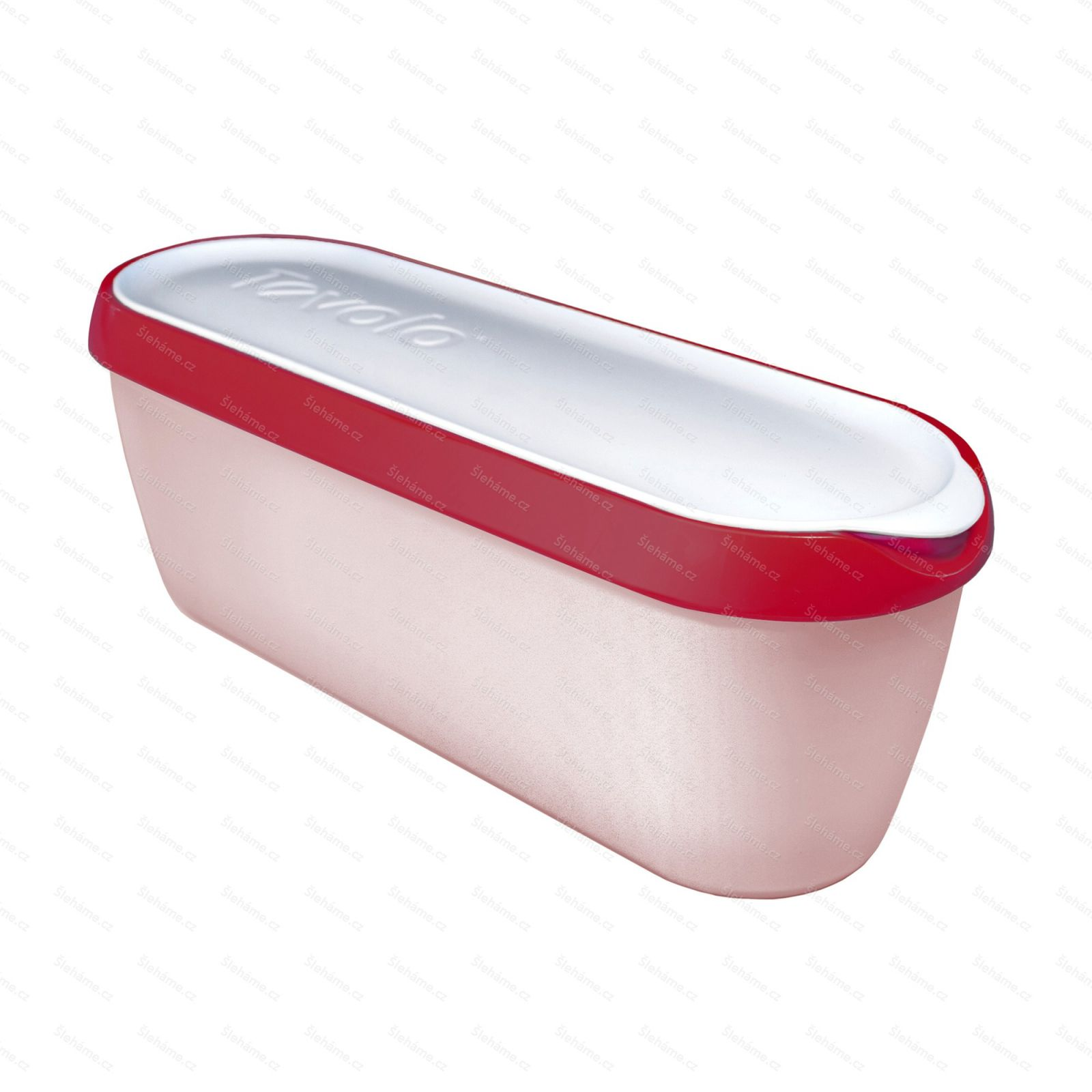 Ice cream tub Tovolo GLIDE-A-SCOOP 1.4 l, cayenne