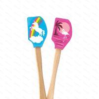 Ministěrka Tovolo SPATULART Unicorn & Flamingo, 2 ks